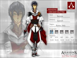 AC:D Cecilio Buitre by synodicmeg