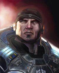 Marcus Fenix - Gears of War by hueyyeng