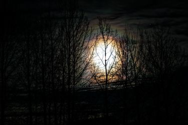 Supermoon - 12/3/2017 by stormxxx