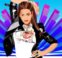 Beyonce  Vector2 by dre1184