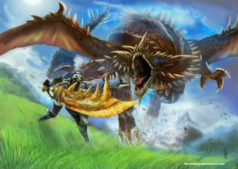 Monster Hunter  : Hunting time by fandygembuk