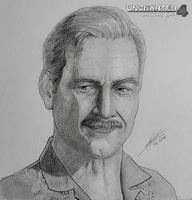 Victor Sullivan (Uncharted 4: A Thief's End) by ZigArtwork