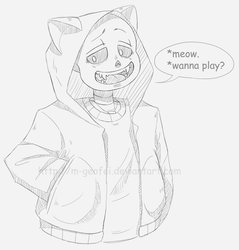 Sansymeow.png by M-Geofei