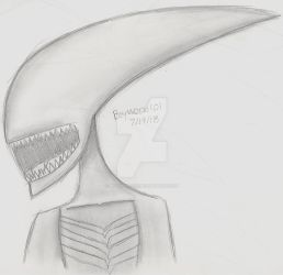 Xenomorph Sketch by Beyworld101