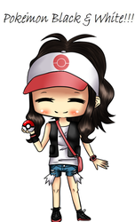 Rinspirit Art 7 10 POkemon Black And White By