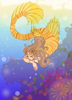 Lionfish Mermaid by kemurai6