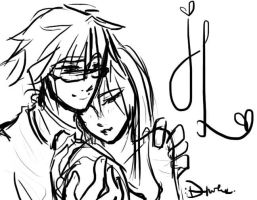 James and Lily - Scribble by DoodleWEE