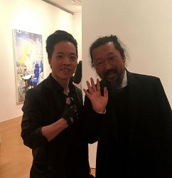 Michael Andrew Law Finally Meets with Murakami by michaelandrewlaw