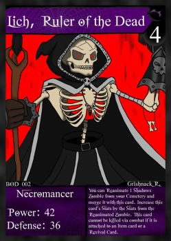 NecroMasters - BOD - 002 - Lich, Ruler of the Dead by PlayboyVampire