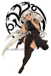 Character Design Challenge: Game Of Thrones by liyunmel