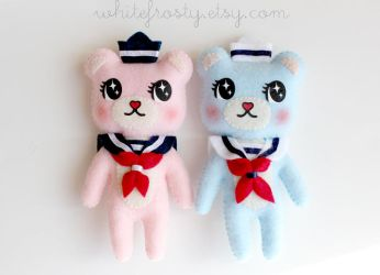 Sailor Bears by whitefrosty