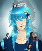 Dramatical cling by The13th-Warrior