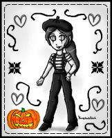 Smashoween 2016 -Wii fit mime by ninpeachlover