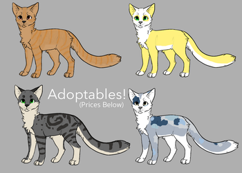 Cat Adoptables OTA (Batch 2) by CarelessCuriosity
