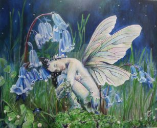 The bluebell fairy by Siobhan Lewis by Chevlette