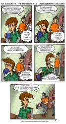 Update: My Roommate, The Internet Strip #18 by magusVroth