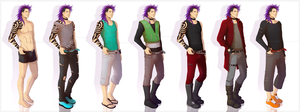 Toge - clothing sheet by nominee84