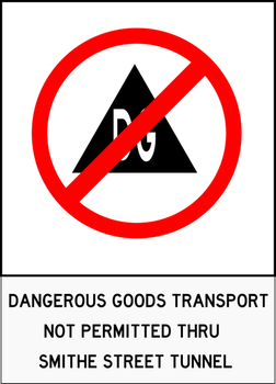 Dangerous Goods Transport Not Permitted by TheSuperArtWorks
