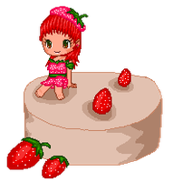 Fantage - The Tiny Strawberry-like Midget! by Fario-P