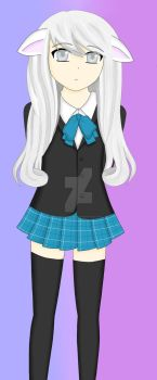 Fuyi Nakato in schooluniform ^_^ by TheTalkingMask