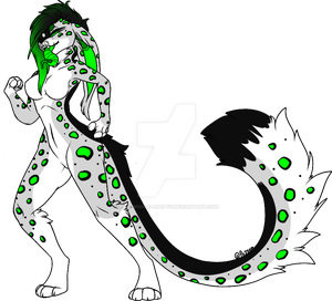 Snow Leopard Anthro Adopt (closed)