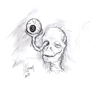 Eyeball by JRAbneyart