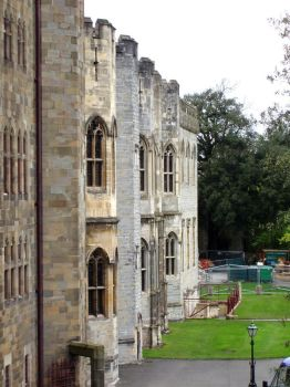 Cardiff castle wall by AirScorp