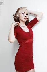 Lady in red by Ryoko-demon