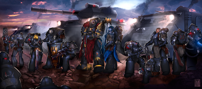Brothers in arms - 40K by t-cezar