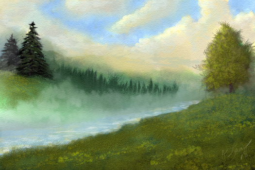 River Mist by ghost549