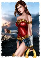 Diana Prince by punisher357