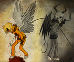 Good and evil by Timeless-Knight
