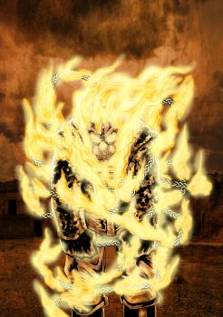 Ghost Rider SoV fire chains colors by azzh316