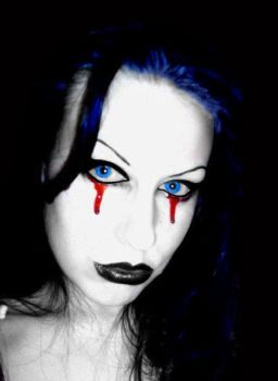 Goth Girls Cry Blood by VampirisIsis