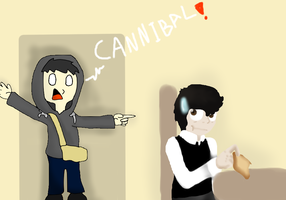 Toast the Cannibal :Collab: by CyanDraggon
