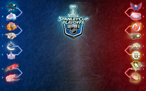 NHL PLAYOFF TREE 2010 ROUND 1 by melies