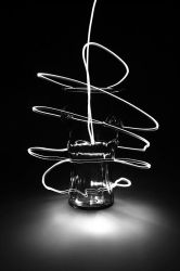 Glass lighting revisited by Tuinhek