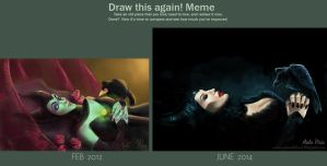 Before After Meme - Maleficent by Seleneprincess