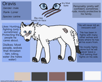 :Oravis: Official sheet ref 2015 by joitimi