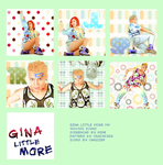 ICONS: GINA LITTLE MORE MV 1 by chazzief