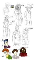 humanized doodle by NewJM