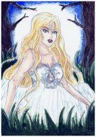 Gift :: The Swan Lady by MaeDreaM