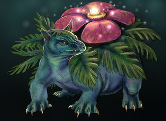 Venusaur by Maquenda