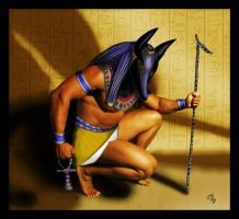 Anubis by wuuge