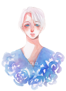 VIKTOR NIKIFOROV YURI ON ICE by LoiLoiChan