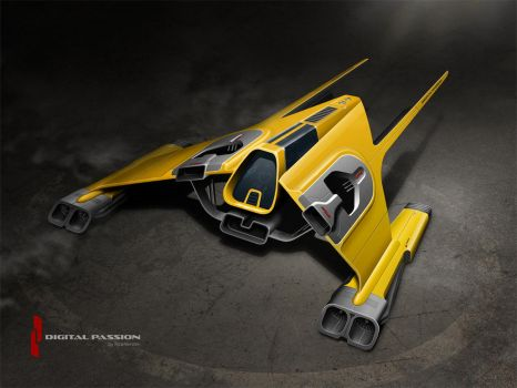 XTR - Star Fighter by digital-passion-com