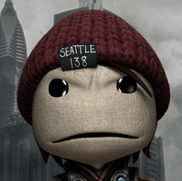 InFamous Second Son - Sackboy Avatar by ZeroHDonDA