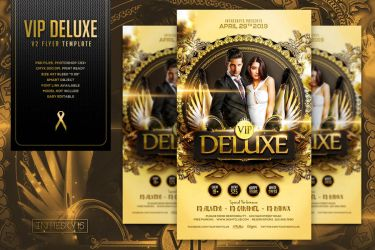 VIP Deluxe V2 Flyer Template by ranvx54