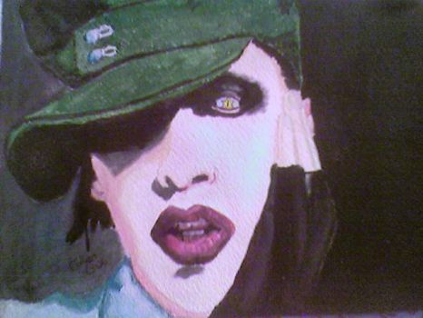 Marilyn Manson3 by speed-of-pain