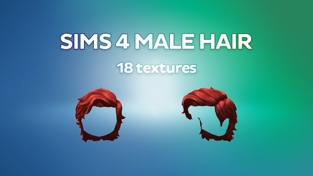 MMD Sims 4 Male Hair [DL] by Marshmaples